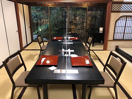 1階大広間 日本庭園をのぞむ大広間・・・40名様まで
